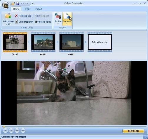 Free Video Converter by Extensoft Ekran Görüntüleri - 1